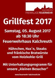 Plakat Grillfest 2017